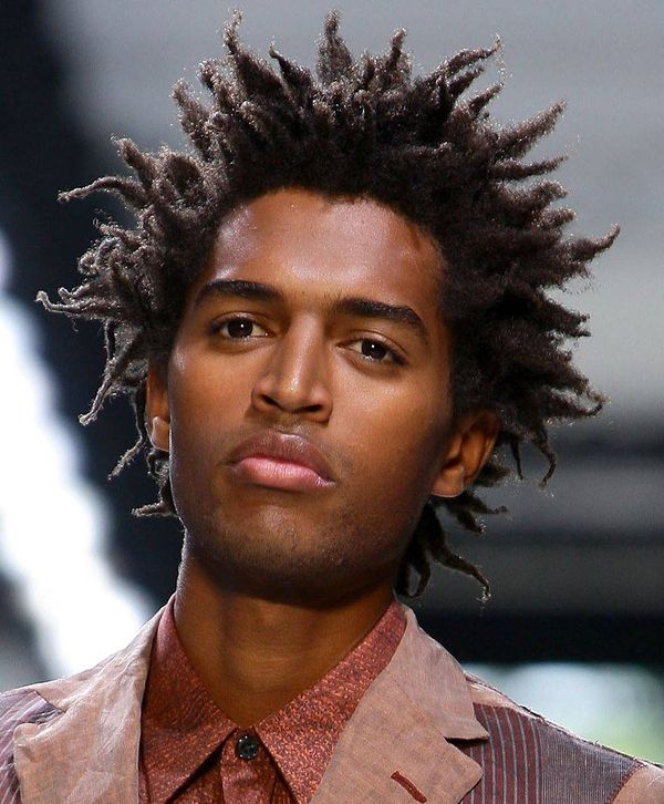 Young Black Men Hairstyles with Twists 1