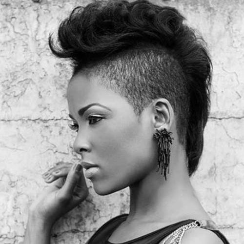 1-1 women's undercut hairstyle