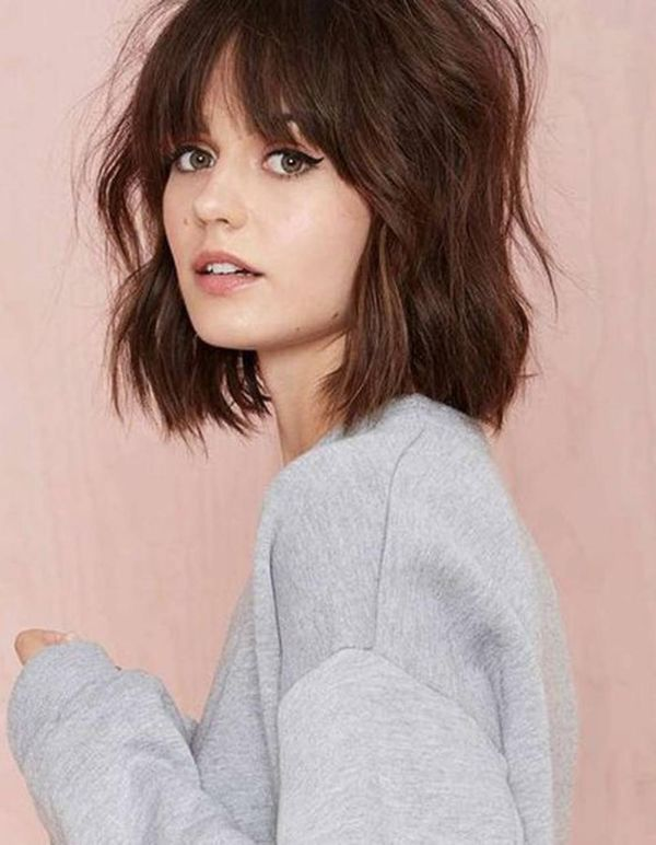 Peachy 48 Fantastic Short Hair With Bangs To Try For 2019 Schematic Wiring Diagrams Amerangerunnerswayorg