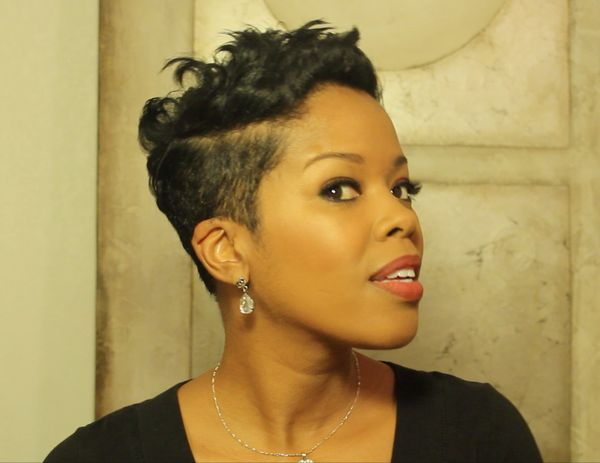 Sexy hairstyles for black girls with short hair 2