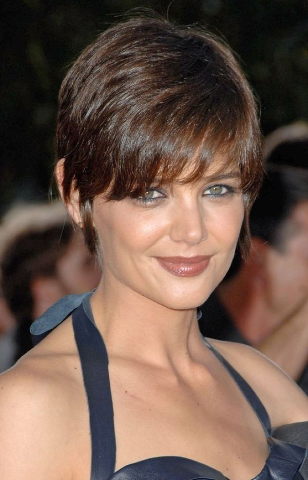 Trendy Short Pixie Cut with Bangs 4