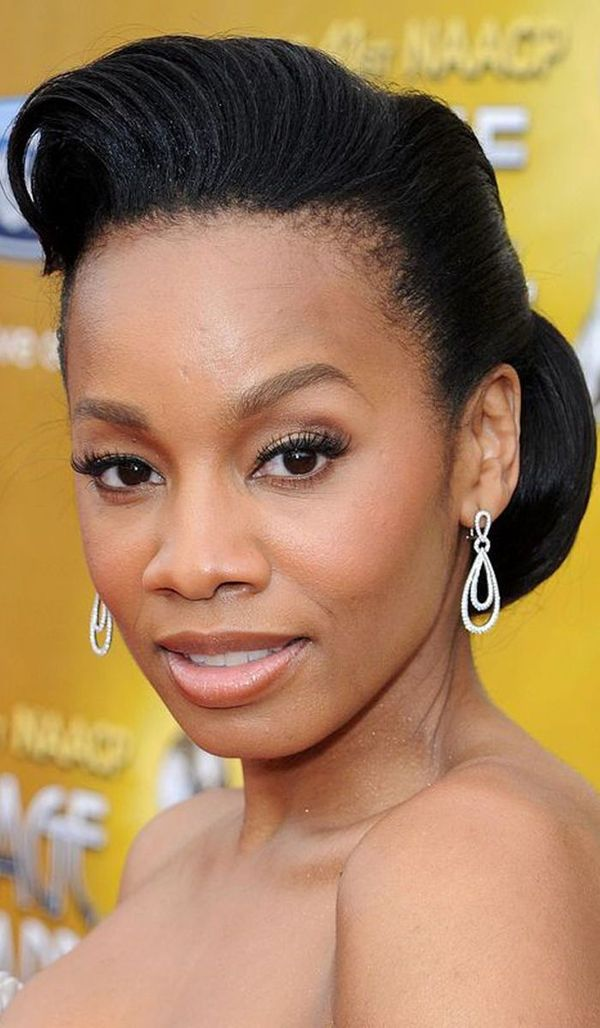 Very short haircuts for black women with round faces 4