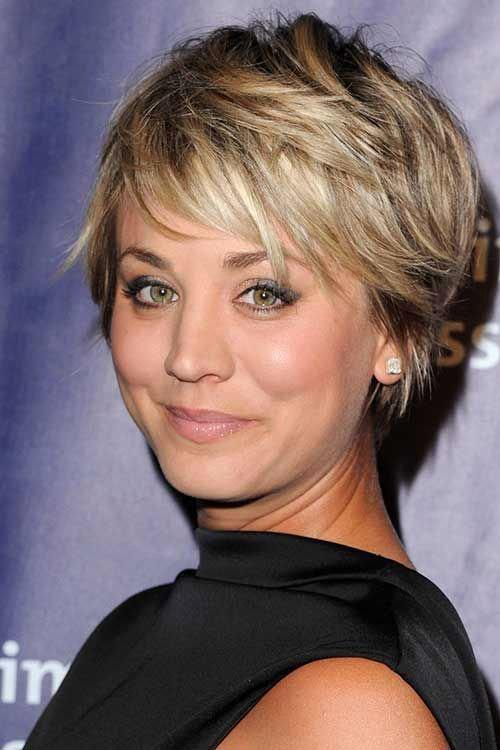 Pics to Make You Want Short Hair with Side Bangs 1