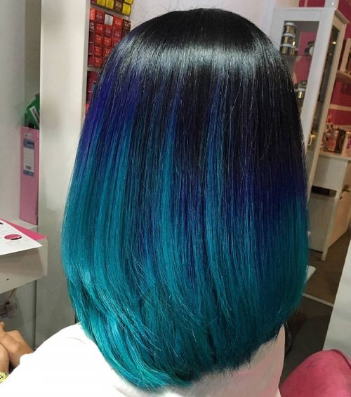Awesome Colorful Ombré Hair 1