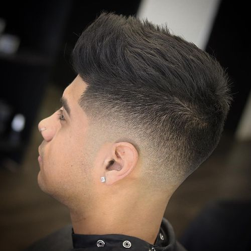 Best Men's Flat Top Haircuts For Straight Hair 1