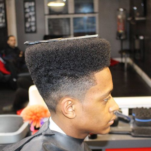 Flat Top Styles For Black Guys 3