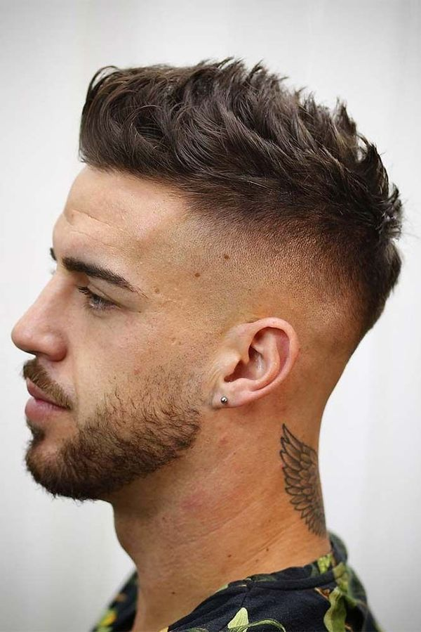 Inspiring Long Crew Cut Ideas for Men 1