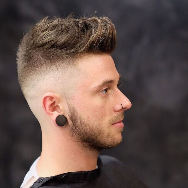 Awesome Short Sides Long Top Haircut Ideas for Guys 3