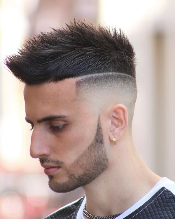 Awesome Short Sides Long Top Haircut Ideas for Guys 4