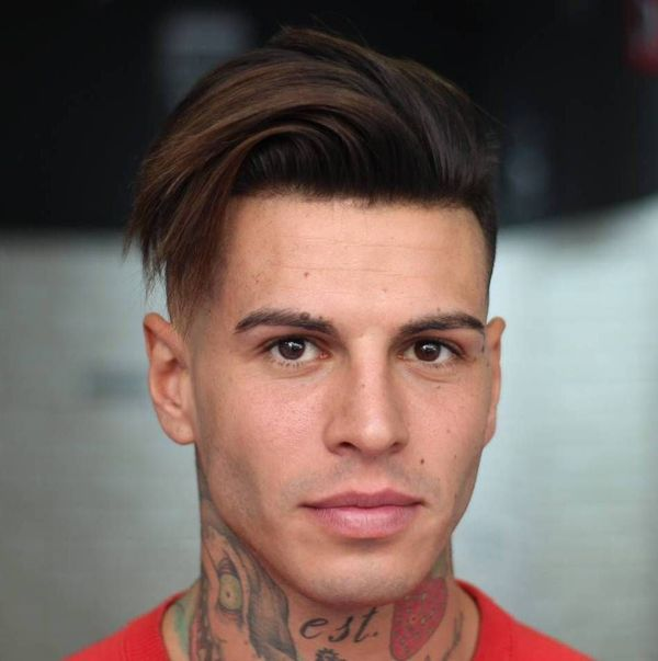 Ideas of Mens Hairstyles with Shaved Sides Long Top 1