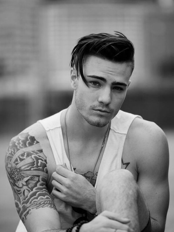Trendy Mens Haircuts with Long Top Short Sides 2