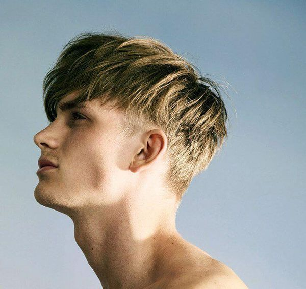 Trendy Mens Haircuts with Long Top Short Sides 3
