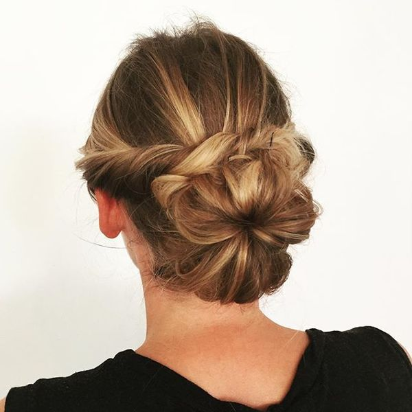 Twisted Hair-Up for Princess