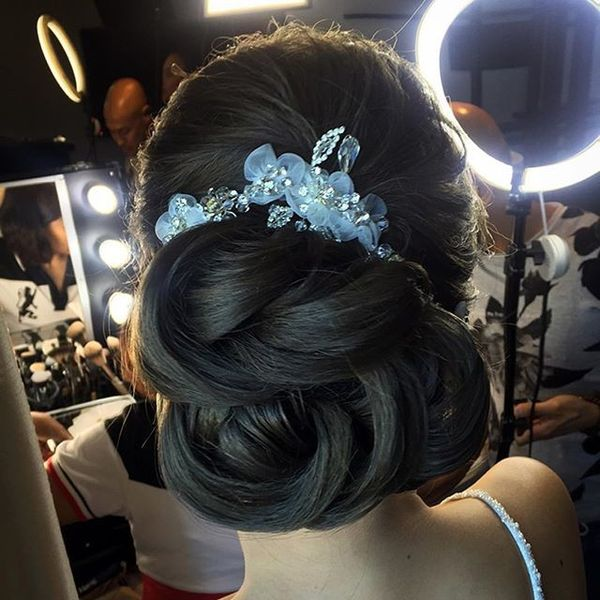 Hair Back with Nice Detail