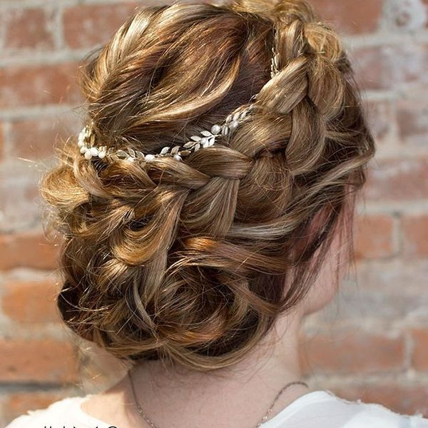 Braid with Twists Hairstyle
