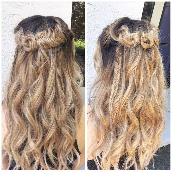 Messy Boho Hairstyles for Long Hair 3