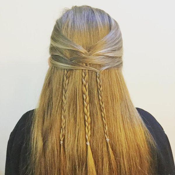 Cute Easy Boho Hairstyles with Braids 6