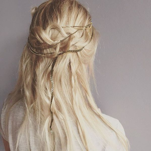 Gorgeous Boho Hairstyles for Medium Hair 2