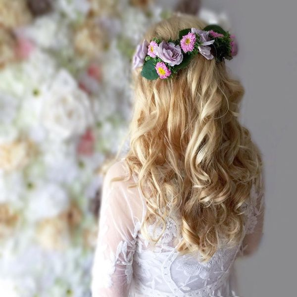 Boho Hairstyles (Perfect For a Wedding) 5