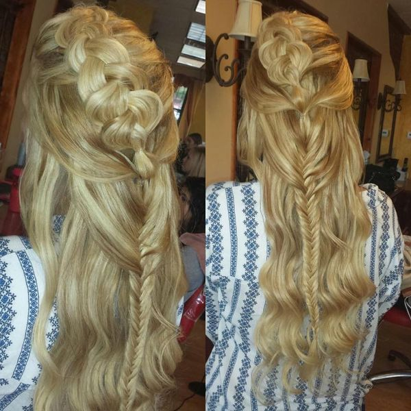 Amazing Boho Updo Hairstyles to Try  2