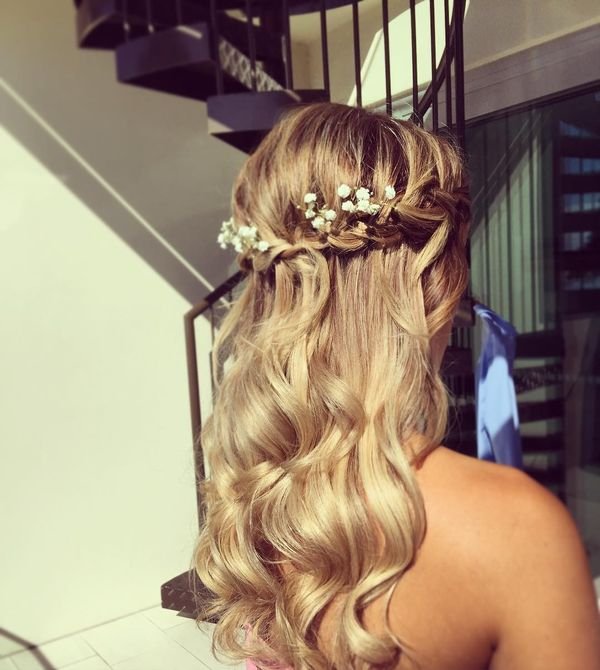 Boho Hairstyles (Perfect For a Wedding) 4