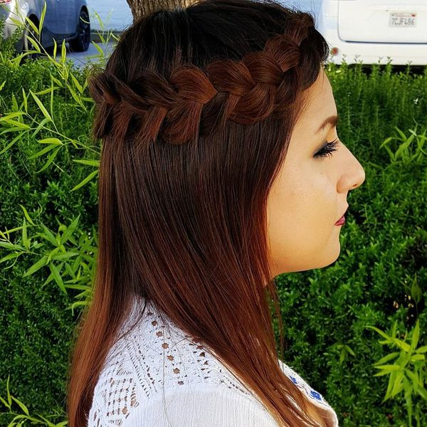 Gorgeous Boho Hairstyles for Medium Hair 5