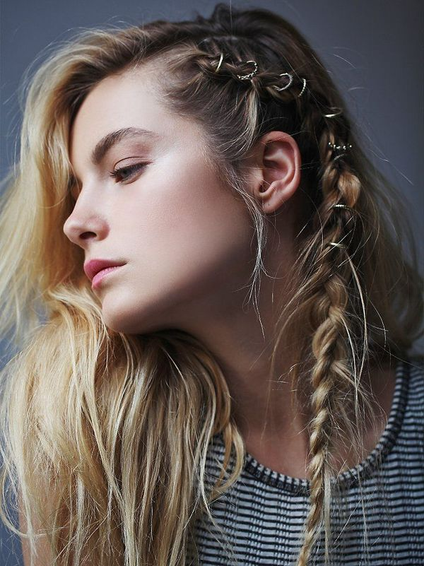 Gorgeous Boho Hairstyles for Medium Hair 7