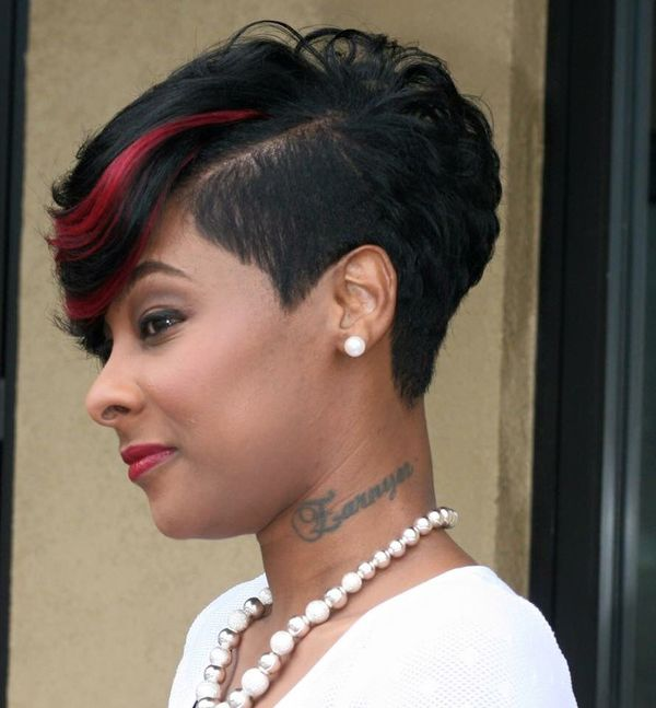 Black Female Mohawk Hairstyles With Color 1