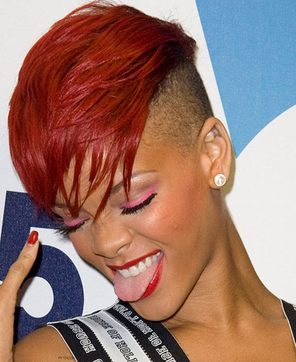 Black Female Mohawk Hairstyles With Color 2