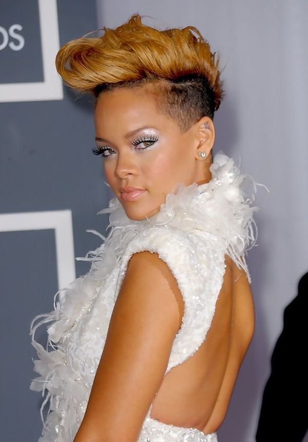 Black Female Mohawk Hairstyles With Color 3