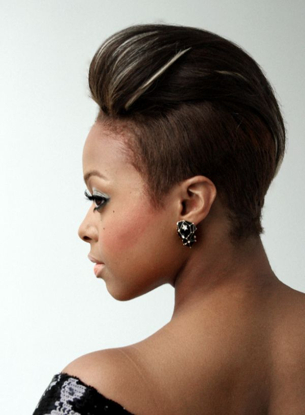 Cool Short Mohawk Hairstyles For Black Women 1