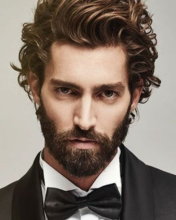 Easy to Style Curly Hairstyles for Men 1
