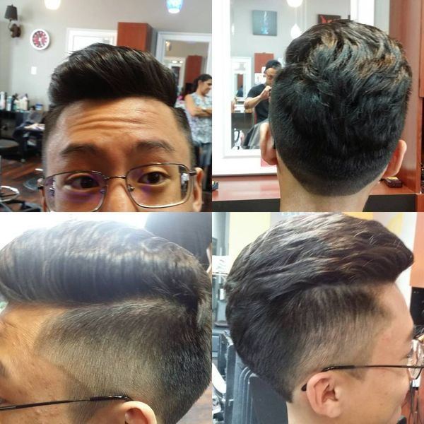 Asian comb over Vs Asian quiff which one do you like better 1