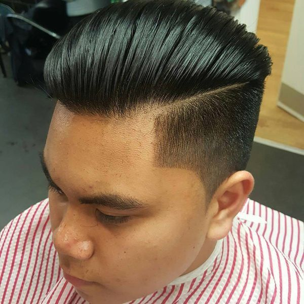 Asian male hairstyles with side part 1