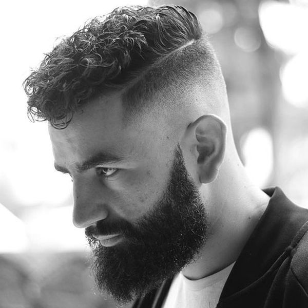 Curly Hairstyles For Men Trending In May 2020