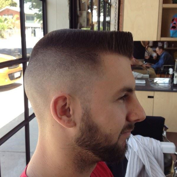 Classic Military High And Tight Hairstyle 2