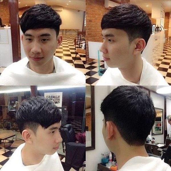 Great examples of Asian fade haircut for men 2