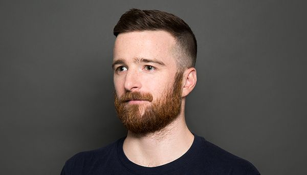 Modern High And Tight With Beard 1