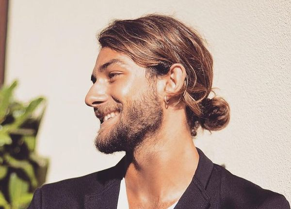 The best ideas for low man buns 4