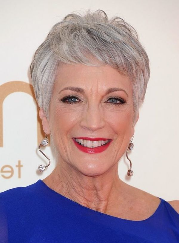 Very short shag haircuts for older women 3