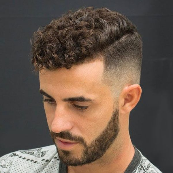 Short Curly Hair Men Should Try 3