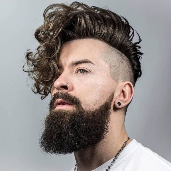 Curly Hairstyles For Men Trending In