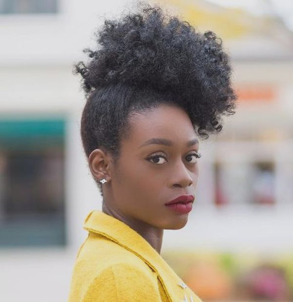 African American Women Short Curly Hairstyles 1
