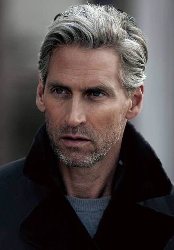 Classy Hairstyles for Men with Medium Hair 2