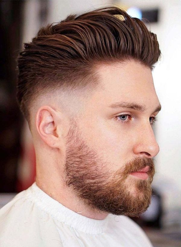 Classy Hairstyles for Men with Medium Hair 3