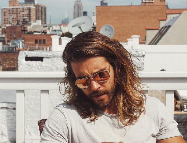Cool Male Hairstyles for Shoulder Length Hair 3