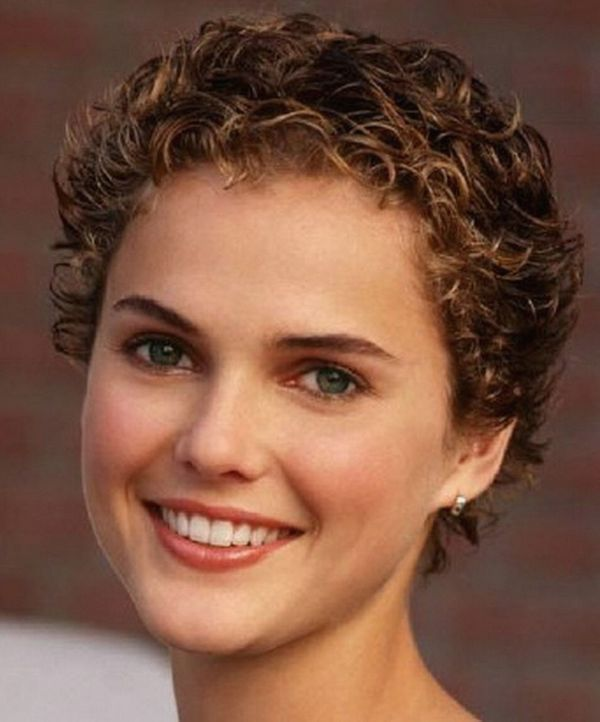 Versions of Curly Pixie Cut for Women with Round Face 2