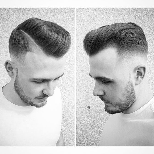 Popular Male Hairstyles for Receding Hairline 1