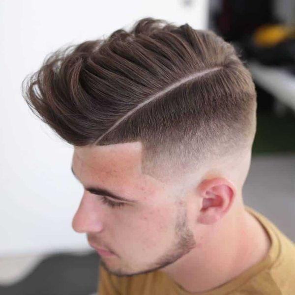 Cool Comb Over Fade Haircuts 1