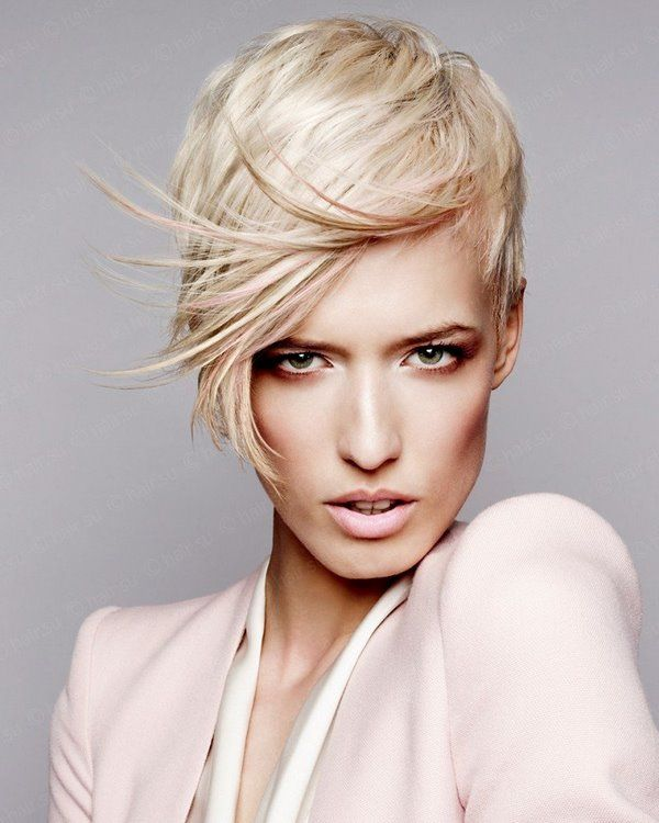 Hairstyles with Hair Short On One Side Long On the Other 1